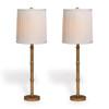Lauderdale Gold Buffet Lamp Set