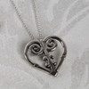 Abby Heart Pendant and Chain