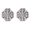 Abby  Quatrefoil Post Earrings