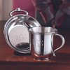 Pewter Porringer and Cup Set