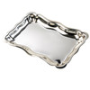 Small Chippendale Pewter Tray