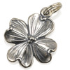 Dogwood Sterling Silver Charm