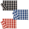 Tavern Check Placemats & Napkins - available in black, blue, and red colors | The Shops at Colonial Williamsburg
