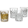 Double Old-Fashioned Pineapple Glasses, Set/4
