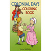 Colonial Days Coloring Book