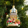 Governor's Palace Blown Glass Ornament