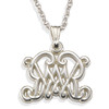 Large William and Mary Pendant with Chain