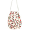 Cream Trailing Blossoms Girl's Pocket
