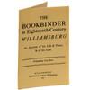 The Bookbinder in Eighteenth-Century Williamsburg