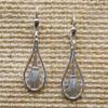 Pierced Fan Drop Earrings   The Shops at Colonial Williamsburg