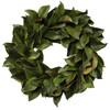 Green Magnolia Leaf Wreath
