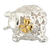 Sterling Silver and Gold Plated Sheep Bead Charm