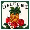 Welcome Pineapple Needlepoint Kit