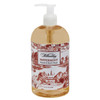 Peppermint Red Toile Pump Soap | The Shops at Colonial Williamsburg