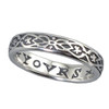 """Yours Only"" Silver Ring"