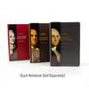 Benjamin Franklin Signature Notebook - collect all our signature notebooks! Choose from Ben Franklin, George Washington, or Alexander Hamilton. Sold separately.