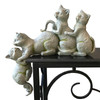 """""""Cats to the Rescue"""" Garden Sculpture 
