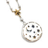 Moon Phase Sterling Silver Necklace