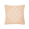 Tan and Ivory Embroidered Accent Pillow   The Shops at Colonial Williamsburg