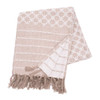 Markle Woven Throw - Clay | The Shops at Colonial Williamsburg