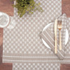 Markle Woven Table Linens - Clay | The Shops at Colonial Williamsburg