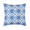 Delft Garden I Indoor/Outdoor Pillow | The Shops at Colonial Williamsburg