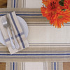 French Blue Stripe Table Linens | The Shops at Colonial Williamsburg