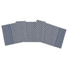 Markle Woven Table Linens - Navy - table runner | The Shops at Colonial Williamsburg
