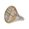 Bruton Sterling Silver & Gold Plate Ring | The Shops at Colonial Williamsburg