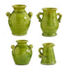 Green European Ceramic Containers, Set of 4   The Shops at Colonial Williamsburg