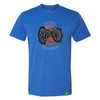 Colonial Williamsburg Revolutionary War Cannon Adult T-Shirt - Royal Blue   The Shops at Colonial Williamsburg