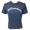 """Colonial Williamsburg Embroidered """"Williamsburg"""" Adult T-Shirt - Navy Blue 