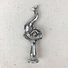 Mythical Dolphin Pewter Pipe Tamp | The Shops at Colonial Williamsburg