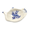 Blue and Cream Teapot Tea Bag Holder | The Shops at Colonial Williamsburg