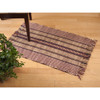 Red Burdett Stripe Rug | The Shops at Colonial Williamsburg