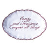 """""""Energy and Persistence"""" Verse Dish   The Shops at Colonial Williamsburg"""