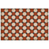 """Lee Octagons Vinyl Floorcloth - 20"""" x 30"""" 