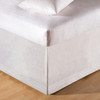 Tailored White Bedskirt - Queen | The Shops at Colonial Williamsburg