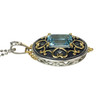 Sky Blue Topaz Silver Pendant   The Shops at Colonial Williamsburg