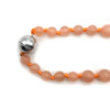 Peach Moonstone Rosary Necklace | The Shops at Colonial Williamsburg