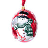 Vaillancourt Jingle Ball Ornament - Snowman with Shovel | The Shops at Colonial Williamsburg