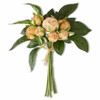 Real Touch Orange Cabbage Rose Bundle | The Shops at Colonial Williamsburg