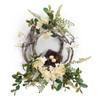 "Hydrangea, Foliage, Vine, & Bird Nest Wreath 20"" | The Shops at Colonial Williamsburg"