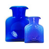 (Right) Blenko Glass Mini 384 Cobalt Water Bottle | The Shops at Colonial Williamsburg