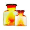 (Right) Blenko Glass Mini 384 Tangerine Water Bottle | The Shops at Colonial Williamsburg