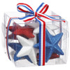 Boxed Set of Decorative Glitter Stars   The Shops at Colonial Williamsburg