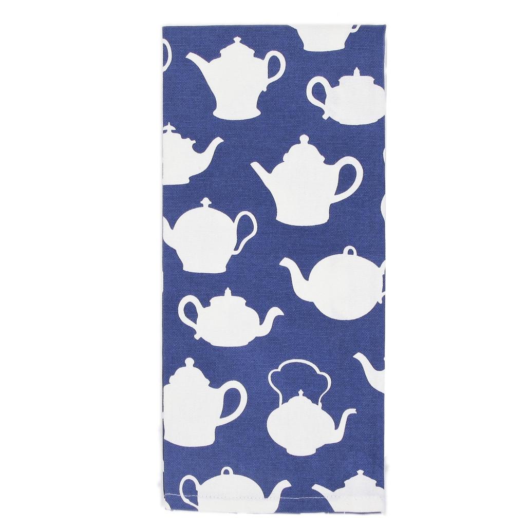 Blue Teapot Kitchen Towels