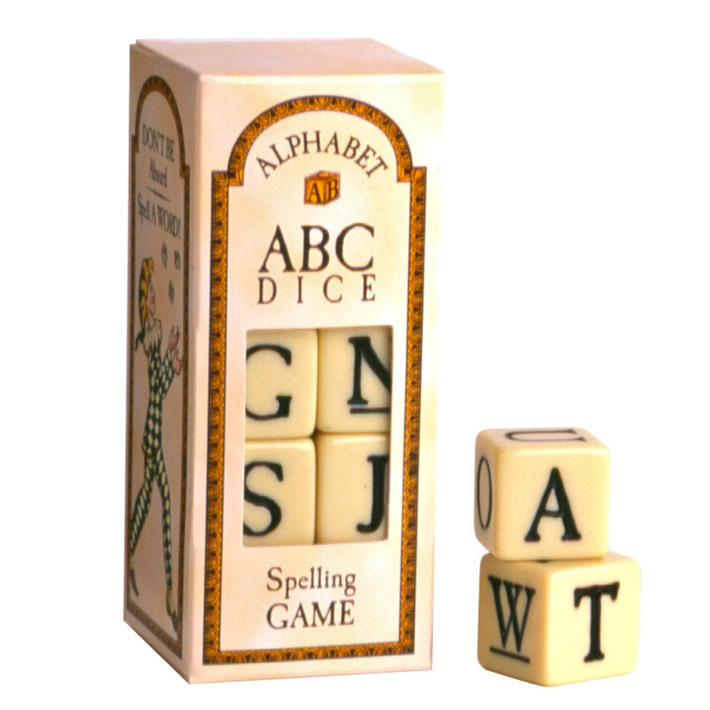 Alphabet Dice Game educational toy | The Shops at Colonial Williamsburg