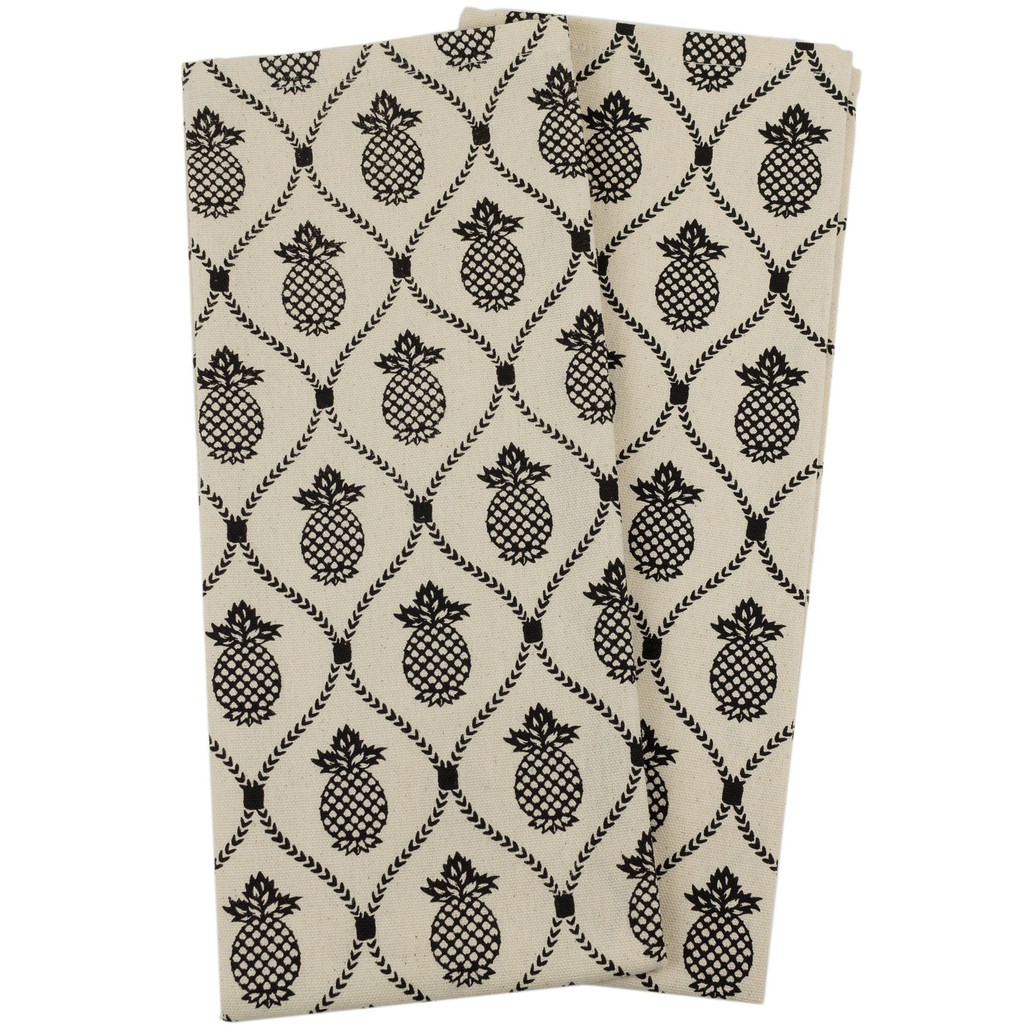 Pineapple Trellis Kitchen Towels