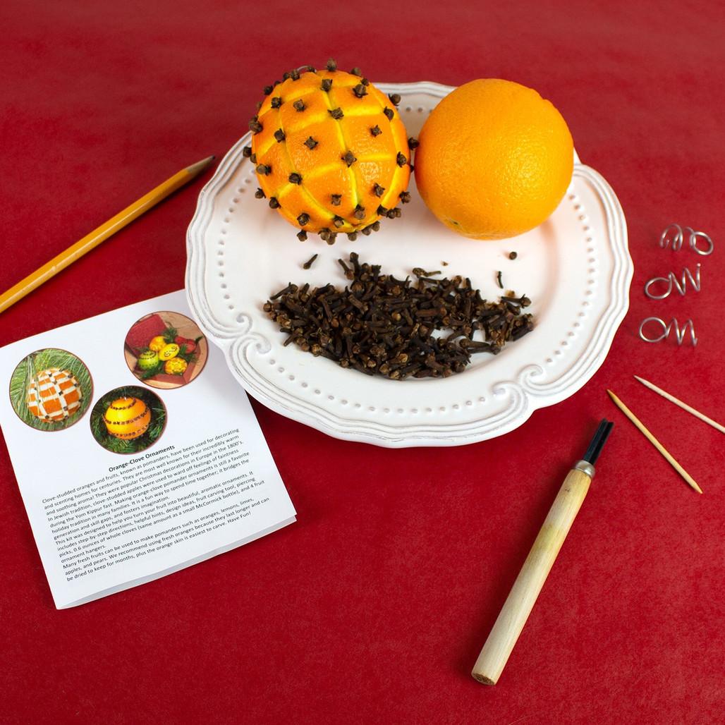 Orange Clove Ornament Kit